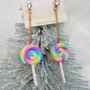 Jewelry - UNICORN LOLLIPOP EARRINGS